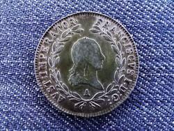 Ausztria II. Ferenc .583 ezüst 20 Krajcár 1815 A / id 13087/