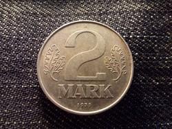 Németország NDK (1949-1990) 2 Márka 1975 A / id 11966/