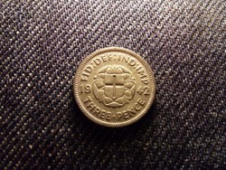 Anglia VI. György .500 ezüst 3 Pence 1942 / id 12646/
