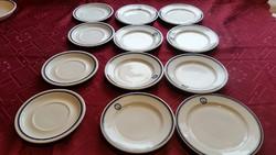 Alföldi porcelán tányér 12 db eladó!Mecsekvidéki Vendéglátó Vállalat feliratta.