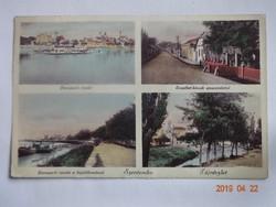 Régi képeslap: Szentendre, mozaik, kb. 1940