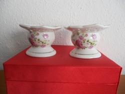 Porcelán mécsestartó párban