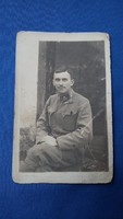 Első világháborús katona képeslap