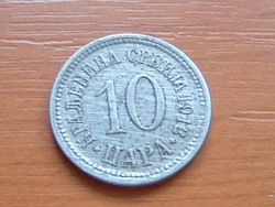 SZERBIA 10 PARA 1912 #