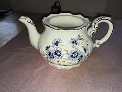 Zsolnay buzavirágos teás kiöntő