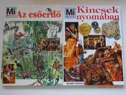 Mi micsoda könyvek - 2 kötet együtt: Kincsek nyomában + Az esőerdő