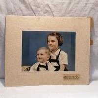 Műtermi fotó, gyermekek (Bérci Fotó Baja MABI Palota ) 29x35,5 cm
