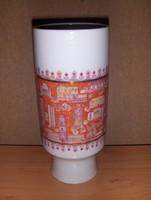 Wallendorf porcelán art deco váza (4/d)