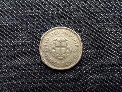 Anglia VI. György .500 ezüst 3 Pence 1940 / id 12614/