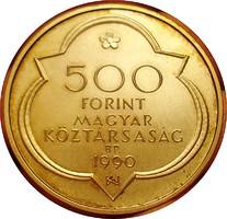 500ft 1990 Buda Civitas Regia  Ag Ezüst !