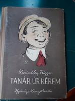 Kora retro Karinthy Frigyes Tanár úr kérem c. kiadványa