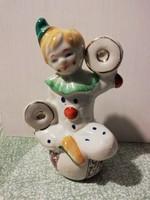 Bájos porcelán-bohóc