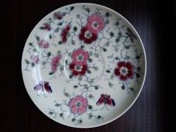 Zsolnay csészealj, tányér