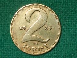 2 Forint 1987 ! Szép !