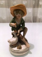 Kézzel festett biszkvit porcelán