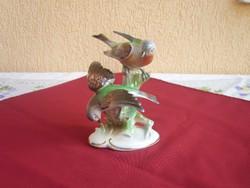 Antik Német  madárpár- Grafhenthal