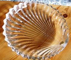 Villeroy üveg asztalközép, kb 28-30 cm