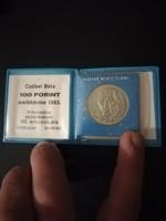 1983-as Czóbel 100 Forint banki csomagolásba