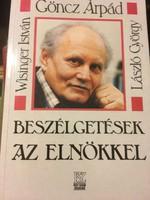 Göncz Árpád: Beszélgetések..../ DEDIKÁLT