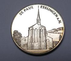 Salemer Pfleghof ezüst? emlékérem 1220-1982