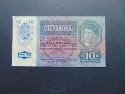 10 korona 1915  1268 Szép ropogós bankjegy !