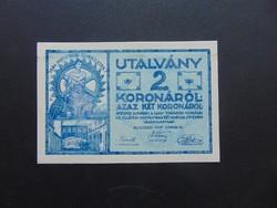 2 korona 1919 Ganz - Törzsgyár