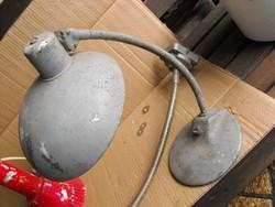 RITKA Vallató lámpa 1956 rendőr ávóslámpa Retro Loft ipari industrial vintage