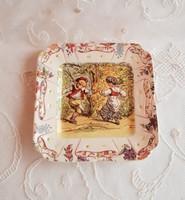 Sarreguemines fali tányér