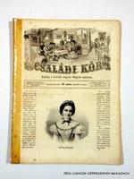 1863 július 5  /  Családi Kör   /  ANTIK, RÉGI EREDETI ÚJSÁG RITKASÁG! Szs.:  10690