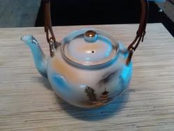 Kézzel festett Japán porcelán teás kanna