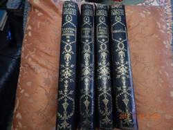 4 kötet a Csathó Kálmán szép, félbőr kötésű sorozatból