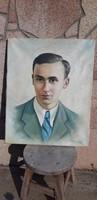 Antik festmény szignózott  Keres. 1948. portré
