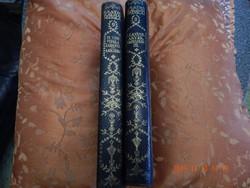 2 kötet a Csathó Kálmán szép, félbőr kötésű sorozatból
