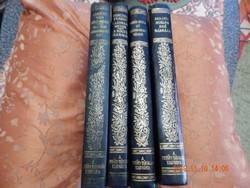 4 kötet közel 100 éves szép könyv