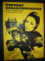Karácsonyi ajándék ötlet! Antik filmplakát: KONCERT SZÓLÓPISZTOLYRA
