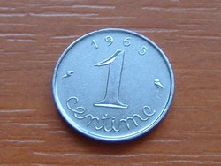 FRANCIA 1 CENTIME 1965 #