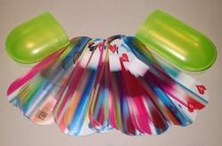 Umbra márkájú hiánytalan plasztik vízálló strand römi kártya pakli kártyajáték kártyapakli játék