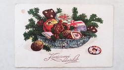 Régi karácsonyi képeslap 1934