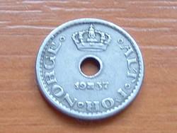 NORVÉGIA 10 ŐRE 1937  #