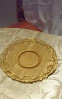 Borostyán szinű csodás kínálos tányér