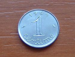 FRANCIA 1 CENTIME 1969 #