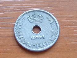 NORVÉGIA 10 ŐRE 1948 #