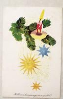 Régi karácsonyi képeslap 1964