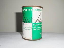Retro konzerv doboz konzervdoboz - Májas hurka - Budapesti Konzervgyár - 1970-1980-as évekből