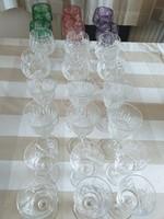 Kristály pohár készletek egyben eladók