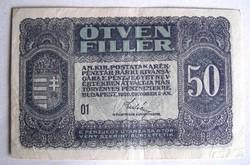 50 fillér 1920