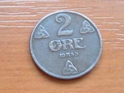 NORVÉGIA 2 ŐRE 1950  #