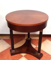 Olasz mester Empire stílusú körasztala