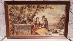 Francia klasszicista antik falikárpit