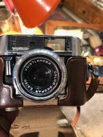 Voightlander ffényképezőgép a negyvenes évekből, igazi szép ritkaság.